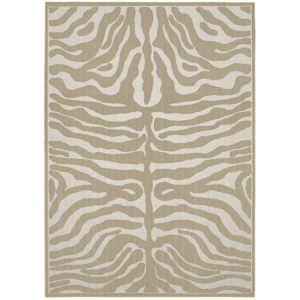 Garland Rug Safari Tan/Ivory Area Rug U0026 Reviews | Wayfair