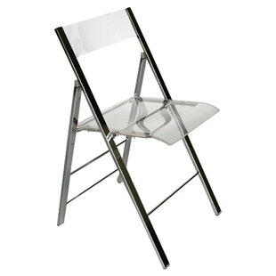 Delightful Baxton Studio Macbeth Acrylic Foldable Side Chair (Set Of 2)