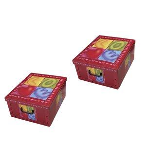2-tlg. Aufbewahrungsboxen-Set Sweetheart Clip von Artra