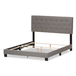 Emilia Upholstered Panel Bed by Wholes..