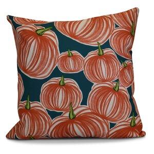 Miller Pumpkins-A-Plenty Geometric Euro Pillow