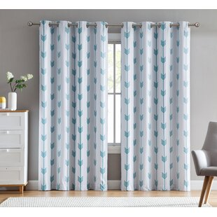 White Blackout Curtains Youll Love Wayfairca