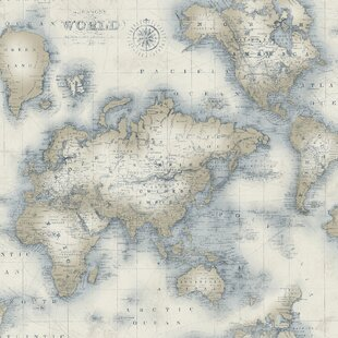 Old world map wallpaper wayfair search results for old world map wallpaper gumiabroncs Choice Image