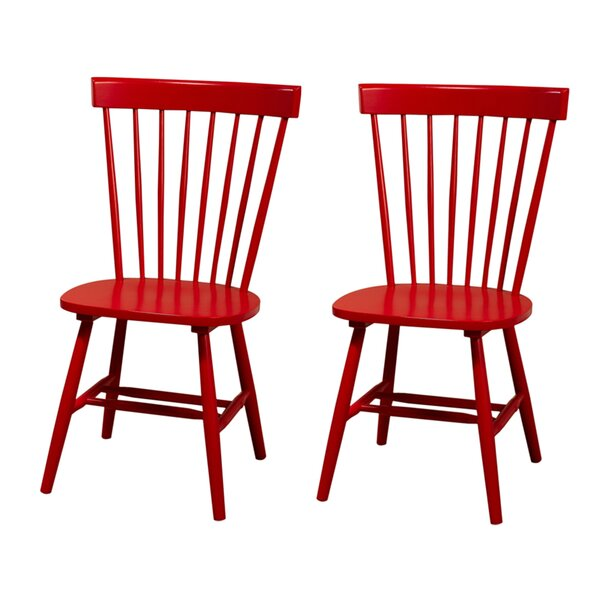 Royal Palm Beach Solid Wood Dining Chair & Reviews