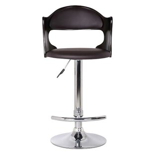 Bobbie Adjustable Height Swivel Bar Stool