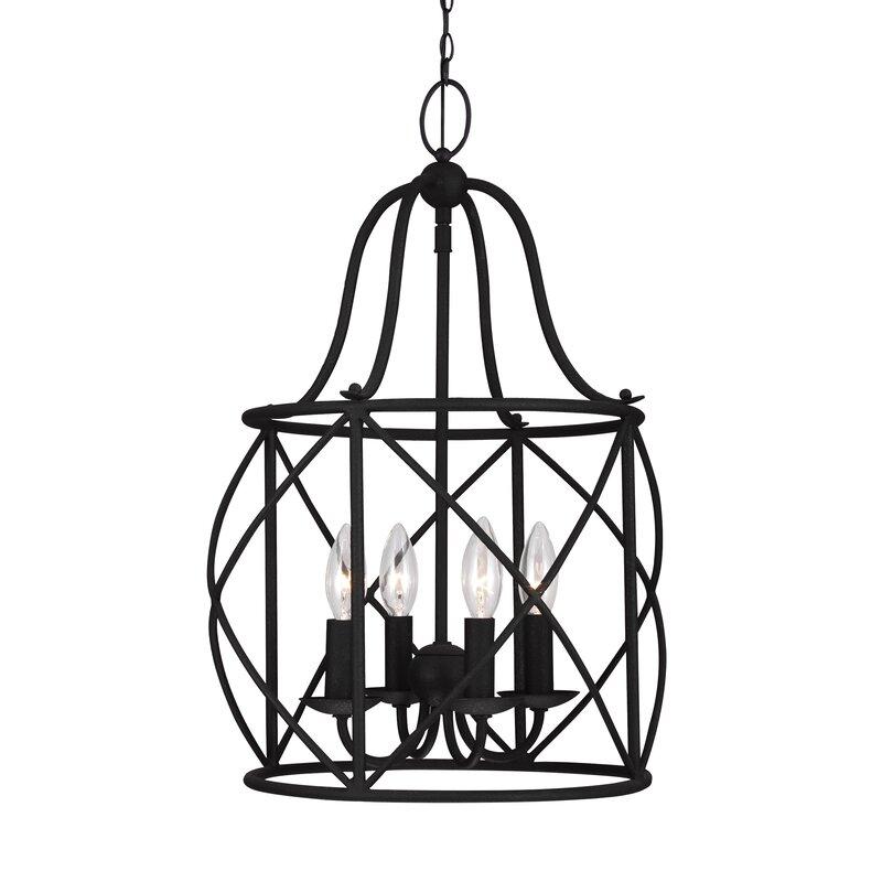 Darby Home Co Cottingham 4 Lantern Pendant Reviews