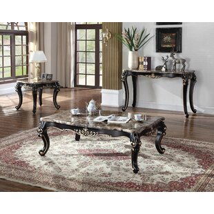 granite coffee table sets you ll love wayfair