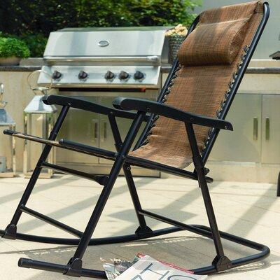 Wood Folding Rocking Chair Wayfair