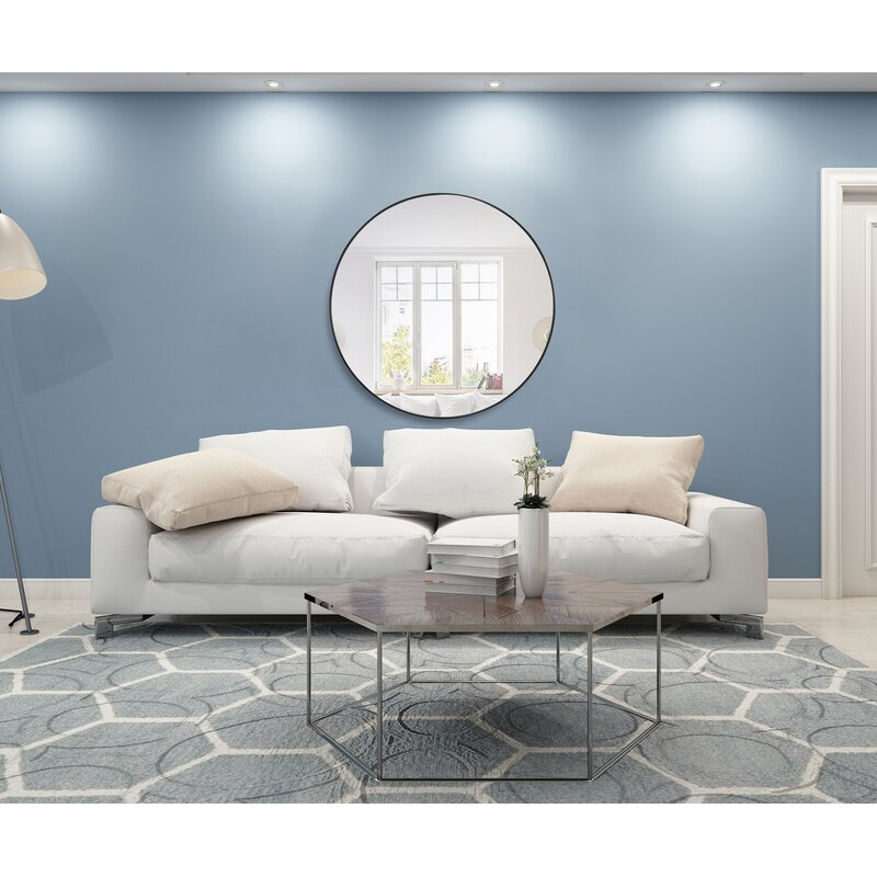 Greyleigh Needville Modern & Contemporary Beveled Accent Mirror ...
