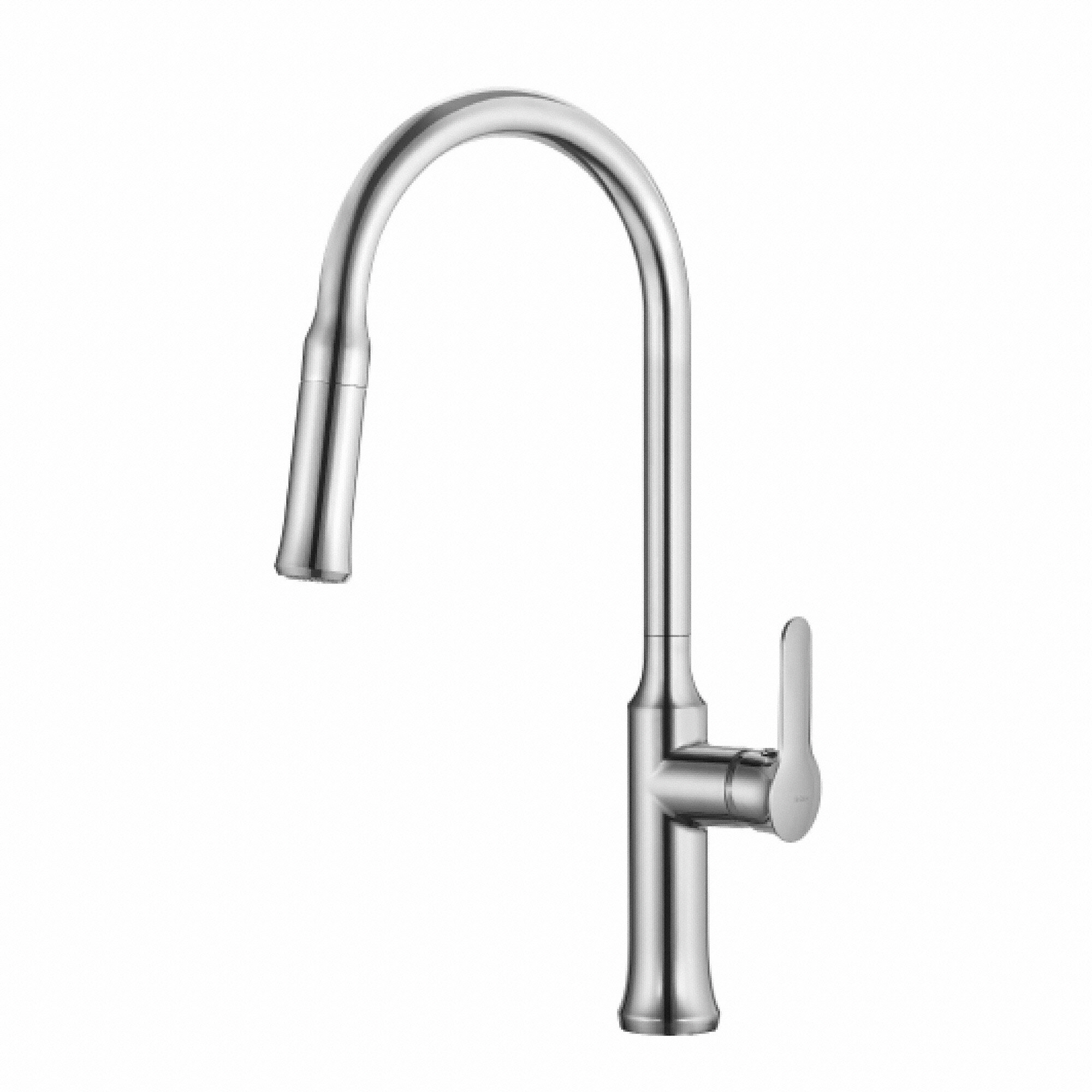down pull handle kraus nola home improvement with kitchen wayfair out faucets faucet gooseneck reviews single pdx spray