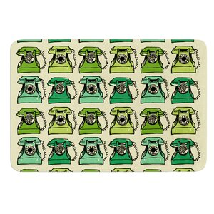 Grandma's Telephone by Holly Helgeson Bath Mat