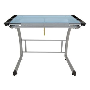 Triflex Glass Drafting Table