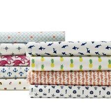 aplin pineapples 200 thread count 100 cotton sheet set - Twin Xl Sheets