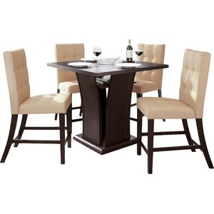 Burgess 5 Piece Counter Height Dining Set