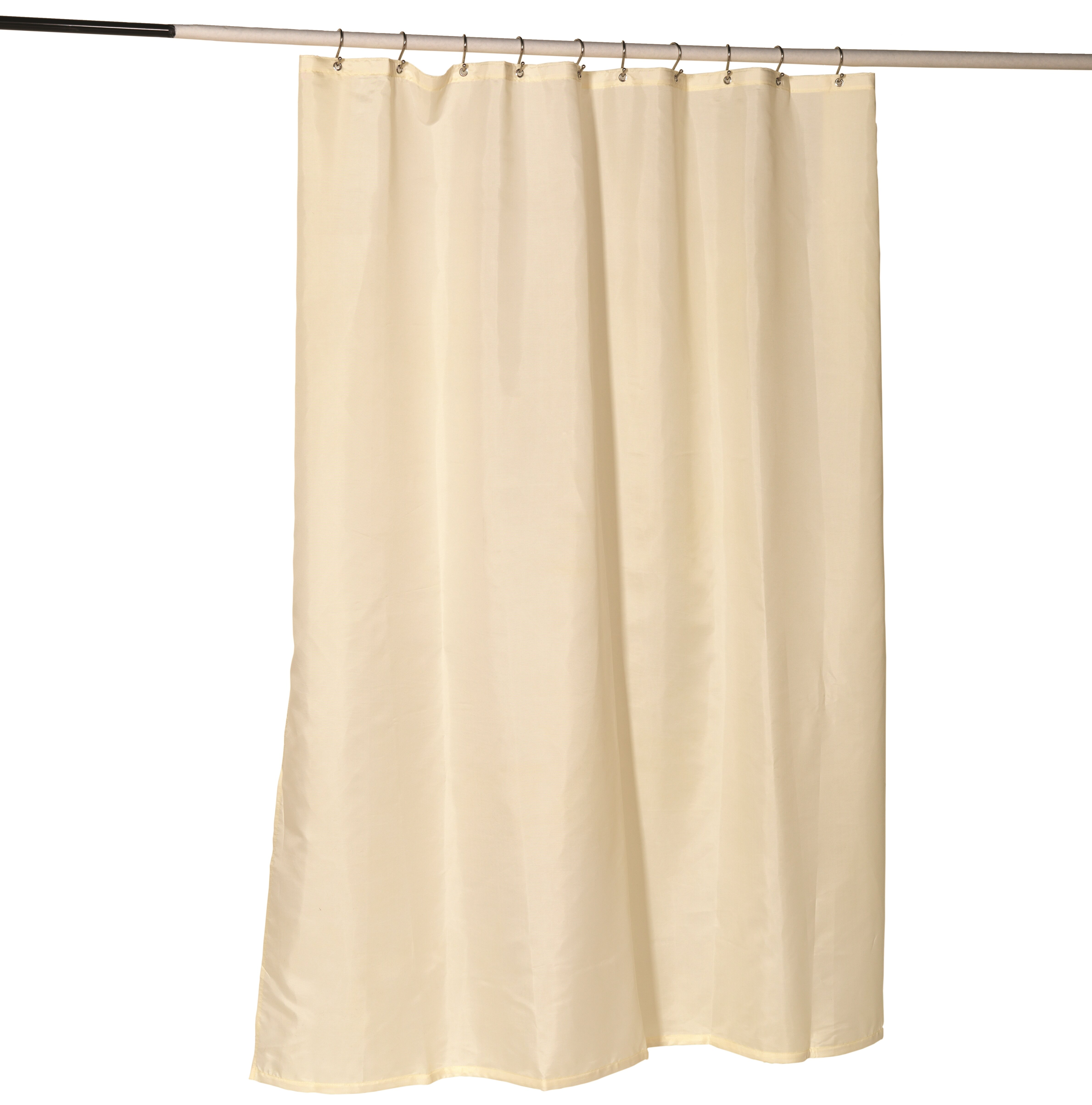 Ben And Jonah Nylon Fabric Shower Curtain Liner With Reinforced Header Metal Grommets Reviews
