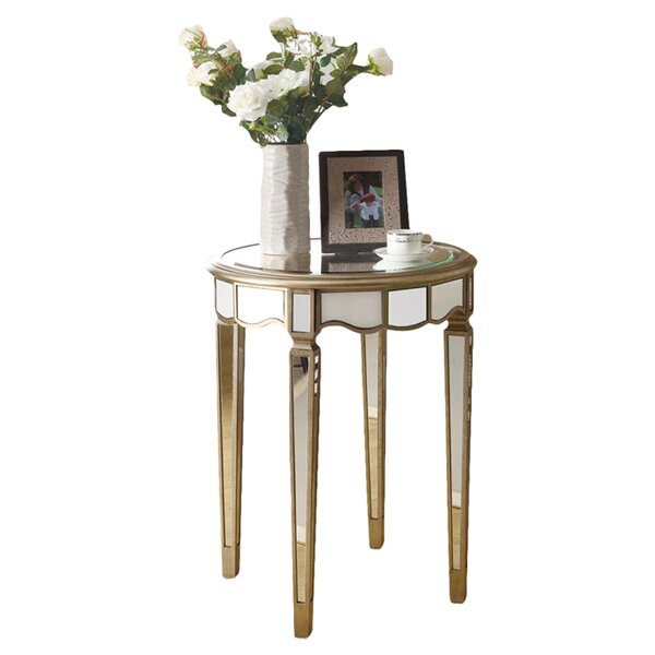 Mirrored End Tables Youll Love Wayfair - Wayfair mirrored side table