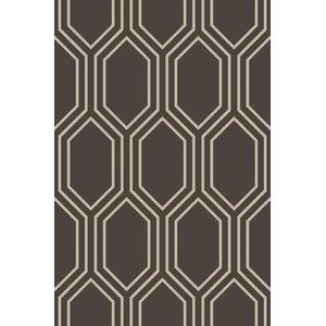 Camlin Charcoal/Taupe Geometric Rug