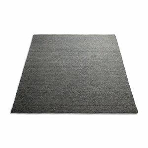 Sinder Hand-Woven Wool Charcoal Area Rug