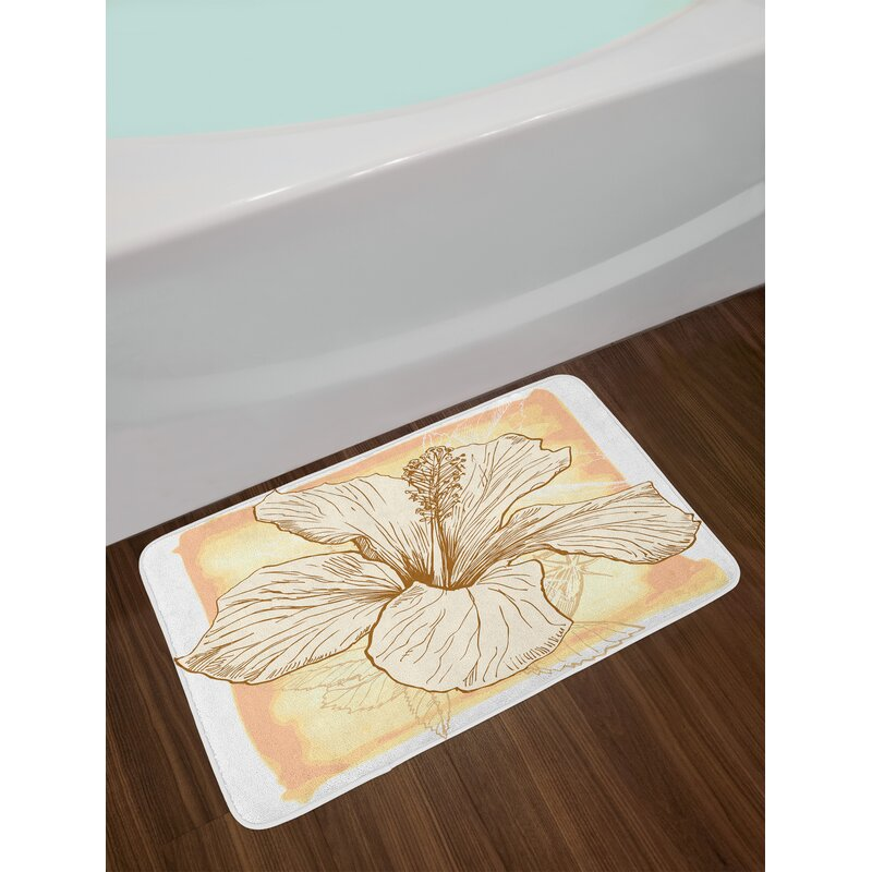 East Urban Home Floral Large Hibiscus Flower Petals Blooms In Soft
