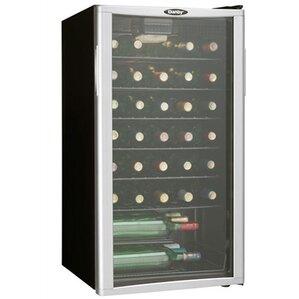 35 bottle single zone wine cooler - Under Counter Wine Fridge