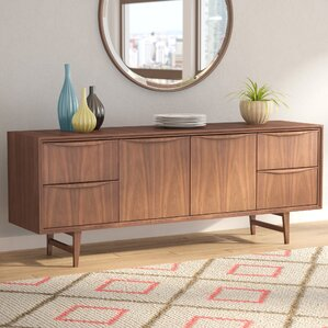 Divis Solid Wood Sideboard by Langley Street