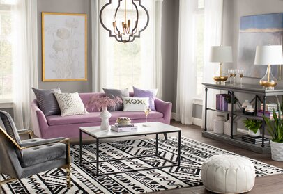 Living Room Glam Design Ideas Wayfair