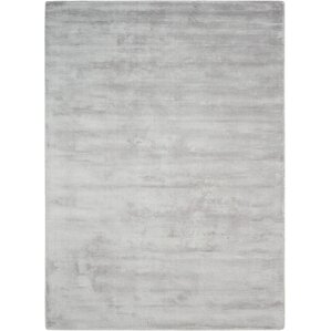 lunar handwoven luminescent rib platinum area rug