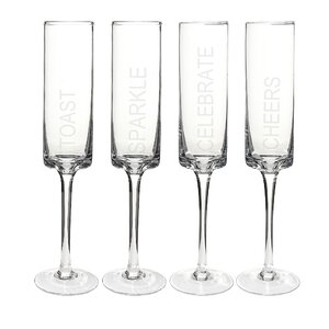 Showalter Champagne Flute (Set of 4)