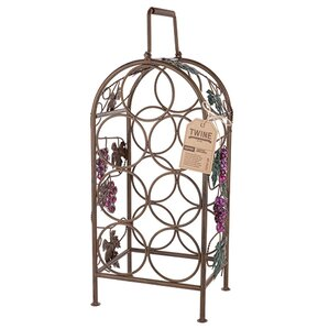 Grapevine 7 Bottle Tabletop Wine Rack by Twine