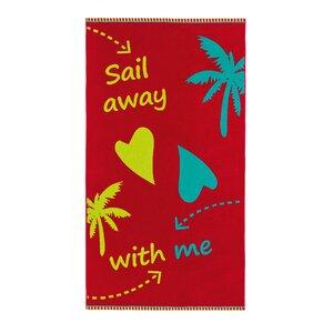 Sail Away Beach Towel