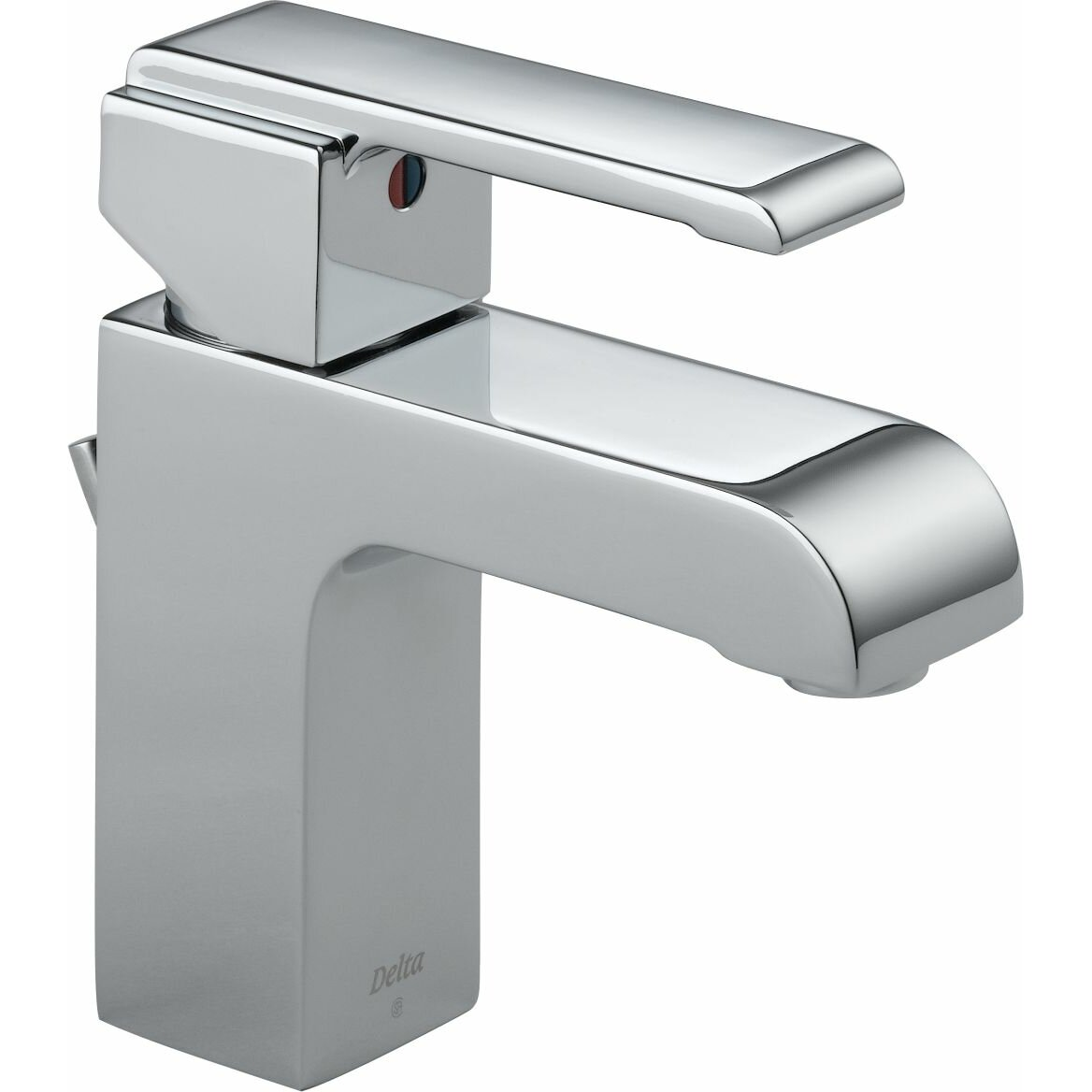 Delta Arzo Series Single Hole Bathroom Faucet with Single Handle