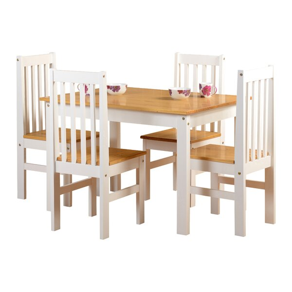 Seconique Shadow Dining Set With 4 Chairs & Reviews