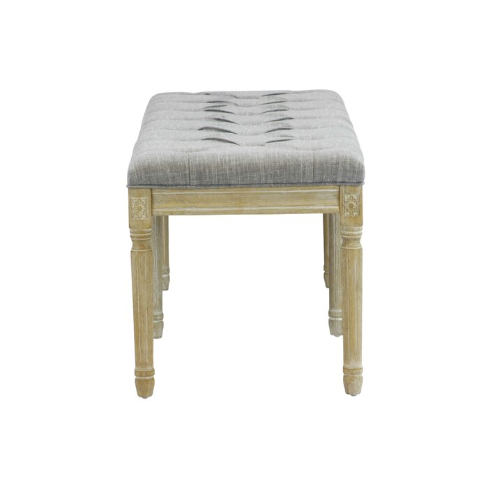 Ophelia Co Wicks French Upholstered Bench Reviews Wayfair