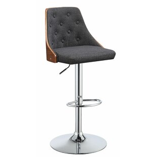 Buntingford Adjustable Height Swivel Bar Stool
