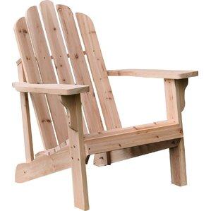 Adirondack Cedar Chairs cedar adirondack chairs - patio chairs & seating | wayfair