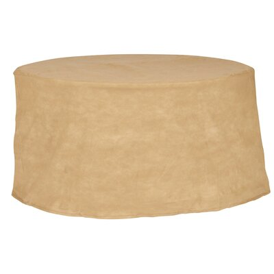 Freeport Park Aaden Round Patio Table Cover Color: Tan, Size: 36 W x 36 D
