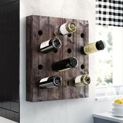 Pavo 16 Bottle Hanging Wine Rack Reviews Birch Lane