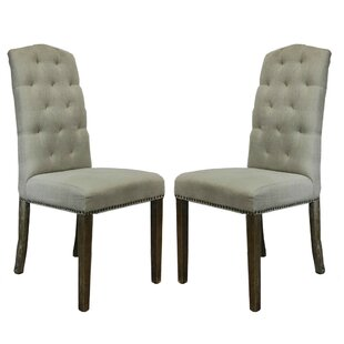 Lorinda Classic Upholstered Dining Chair (Set of 2)