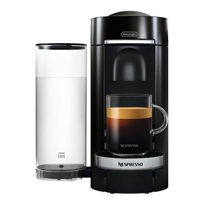 Nespresso Vertuo Plus Deluxe Coffee and Espresso Single-Serve Machine with Aeroccino Milk Frother