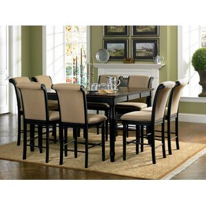 9 Piece Counter Height Dining Set by Infini Furnishings