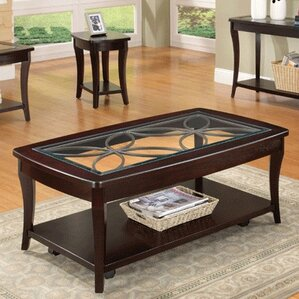 Gilmour Coffee Table with Shel..