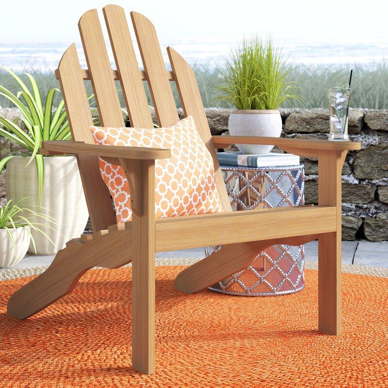 Myrtle Avenue Teak Adirondack Chair