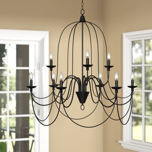 Big Sky 9-Light Candle-Style Chandelier