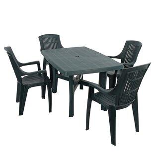 Huxley 4 Seater Dining Set by Lynton Garden