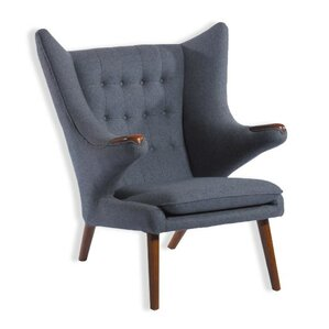 Deity Lounge Chair and Eterna Ottoman by Zen..