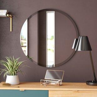 Miroir Mural Rond Sans Cadre Greyson