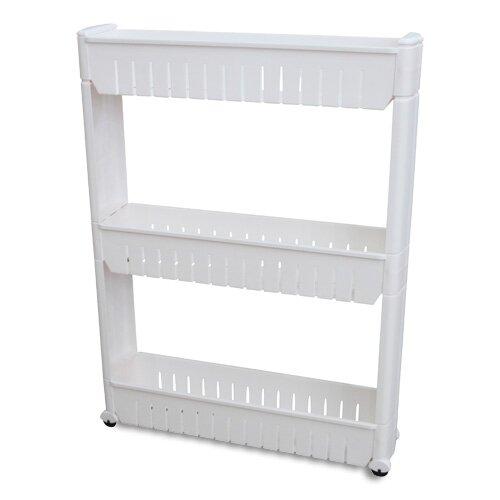 Narrow Sliding Storage Organizer Rack