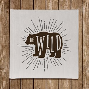 North Country Be Wild Wall Décor