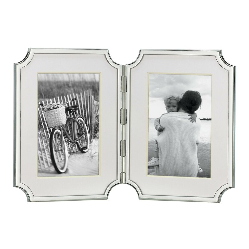 kate spade new york Sullivan Street Double Hinged Picture Frame ...