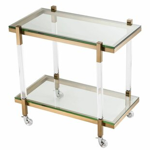 Glass Trolley Bar Cart #2